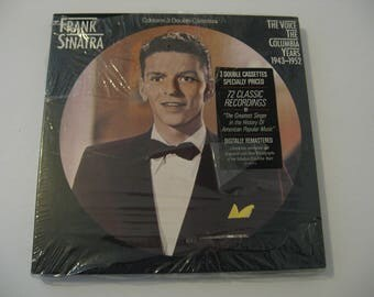 NEW! Factory Sealed!  -  Frank Sinatra - The Voice The Columbia Year 1943-1952 - Circa 1986 -  Cassettes