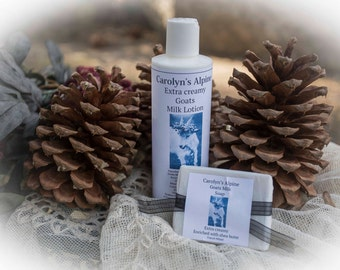 Goats Milk Lotion and Goats Milk Soap Gift set