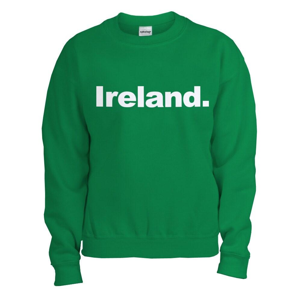 Ireland Rugby Sweater Green Jumper Sport 2014 Championship