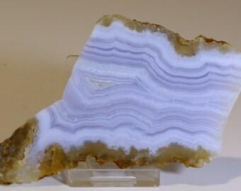 Lovely Blue Lace Agate Slab