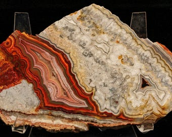 Gorgeous Mexican Crazy Lace Agate Slab