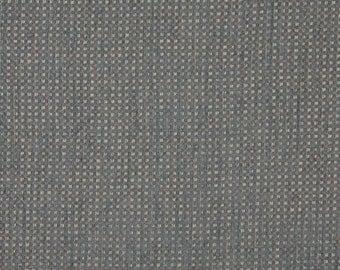 Southwest Check Chenille Upholstery Fabric | Beige Orange And Blue Chenille Upholstery Fabric By The Yard | Pattern # J744