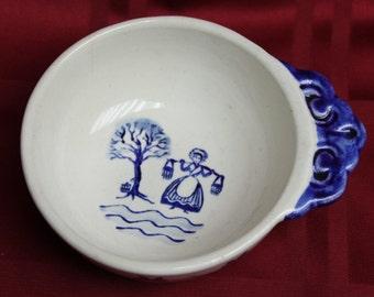 "Circa 1960's Metlox Poppytrail Bowl ""Homestead Provincial"""