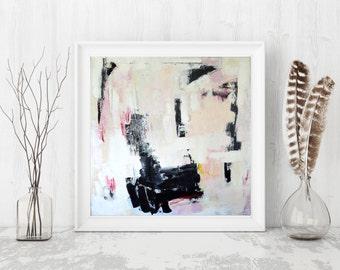 Abstract painting giclée print, modern decor art print, abstract giclée print modern painting by Julianne Strom