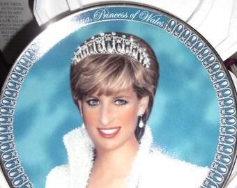 Franklin Mint Tribute to Princess Diana Plate