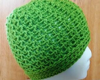The Easy Peasy Messy Bun Hat / Easy Peasy Ponytail Hat