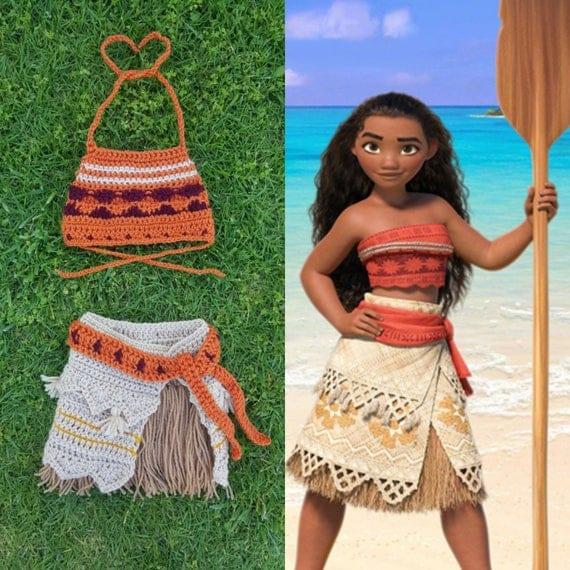 Disneyu0026#39;s Moana Inspired Crochet Outfit