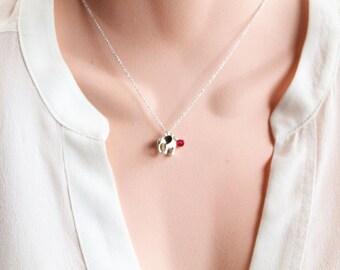 Tiny Elephant Necklace, Gold/Silver Baby Elephant, Symbolic Charm, Wisdom, Layering Necklace, Wedding, Bridesmaid Gift