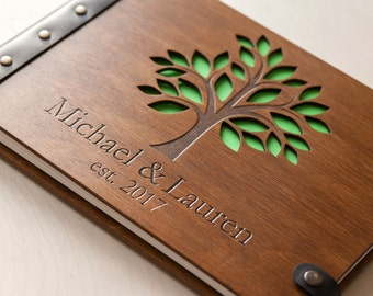 Wedding Guest Book, Family Tree, Photo Album, Guest Book Ideas, Guest Book, Wedding Album, Wedding, Wood Guest Book, Guestbook, Barn Wedding