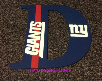 New york giants letter
