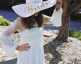 Personalized Womens Sun Hat