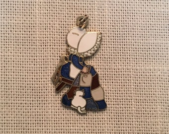 Goose Girl Quilter Charm, 1986