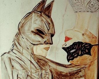 Batman and batgirl wedding