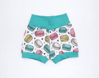 Macaroons Baby Shorts