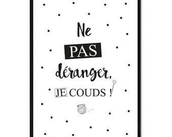 Poster Do not disturb