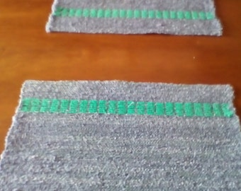 Bohemian Style Placemats Handwoven Cotton