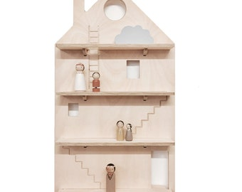 My Treasure Board - The Play House- kids decor shelves - Wall hanging - Plywood design - Australian Made - By One Two Tree