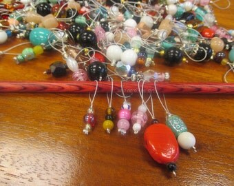 Stitch Markers - Handmade Jewelry for Your Knitting
