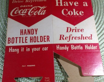 1950's Coca-Cola Handy Bottle Holder Drive Refreshed
