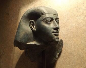 Egyptian statue / sculpture - Saite period 26th dynasty of Ancient Egypt - Ankh-Khonsu replica