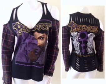 Prince Flannel Concert Shirt