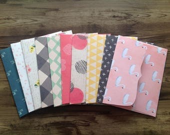 handmade envelopes, set of 10 envelopes, envelopes, stationery, set of 10, beautiful envelopes, stationary,
