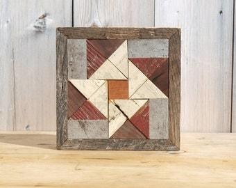 wooden barn quilt,  rustic quilt decor