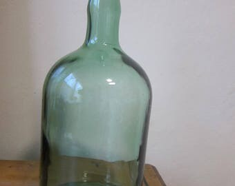 Vintage Green Bottle
