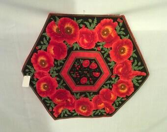 Table Topper, Table Center Piece, Table Decor, Hexagon Center Piece, Hexagon Decor