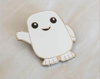 ADIPOSE - Large Enamel Trading Lapel Pin based on the Doctor Who TV Series