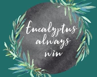 Eucalyptus frames, watercolor clipart hand drawn. Romantic wedding, mint green, tender green branches, chalkboard  frame wedding invitation.