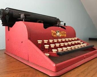 Tom Thumb Children's Manual Typewriter - Western Stamping Company - Made in USA - Vintage Toy - Vintage Manual Typewriter - Mid Century