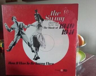 Time Life USA the Swing Era 1940-41  3 record set