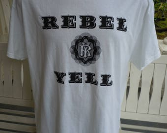 Size XL (50) ** Rebel Yell Billy Idol (Single Sided)