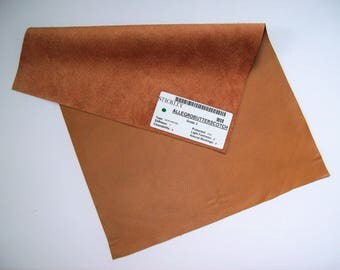 butterscotch leather 12x17 sample