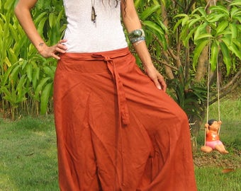 Harem Pants Women Baggy Pants Aladdin Yoga Pants Harem Baggy Pants Men Gypsy Pants Harem Boho Pants * HL - terra