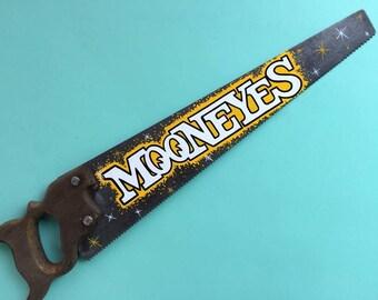 MOONEYES hand painted saw
