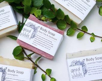 Any 3 Bars Natural Soap, Sensitive Skin, Body and Hand Soap, Vegan friendly, Soap Set, Bath and Body Gift, Handmade Gift