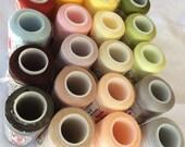 Omega Nylon Thread number 2 Light Blue, Knitter thread, Nylon Crochet thread,  Nylon String, Friendship Bracelet Thread, Yellow Thread