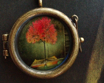 Tree with a Bible Locket