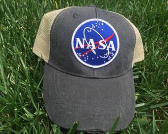 NASA Logo Trucker Hat Snapback