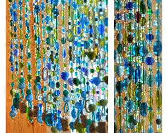 Beaded curtain-Glass Beaded Suncatcher Window curtain-beaded