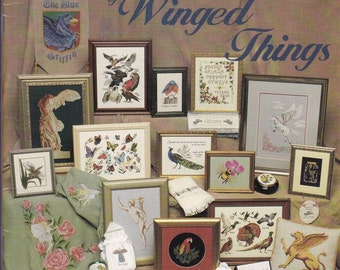 The Omni Crossstitch book of Winged Things. 96888.