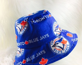 Blue Jays Baseball Bucket Hat, Sun Hat, Sun Bonnet, Beach Hat