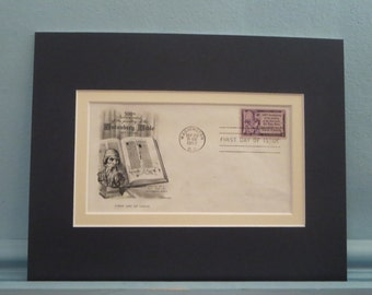 The 500th Anniversary of the Gutenberg Bible & First Day Cover of its own stamp