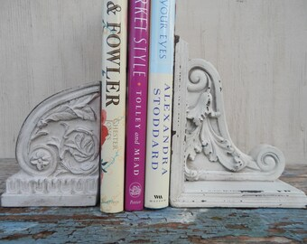 Neoclassical Mismatched Pair of Pretty Bookends!