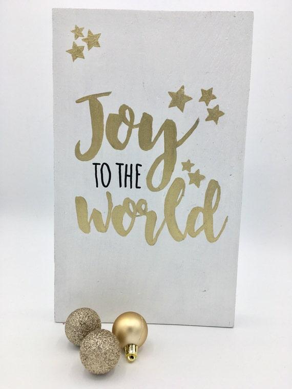 Joy to the world (op bestelling)