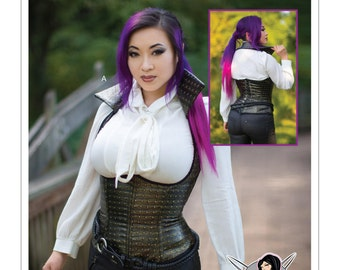 McCall's Sewing Pattern M7555 Underbust, Corset-Style Vests