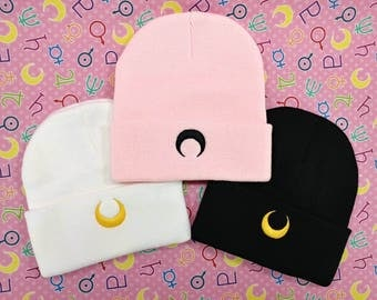 Sailor Moon Luna / Artemis / Black Lady Beanie