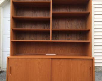 Hundevad Denmark teak hutch bookcase